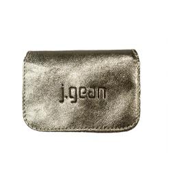 Porta Cartão 100% Em Couro Ourolight J.Gean - PC0... - J.Gean