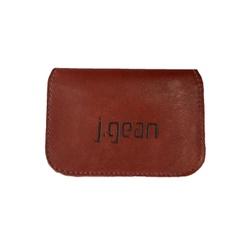 Porta Cartão 100% Em Couro Rouge J.Gean - PC0002-... - J.Gean