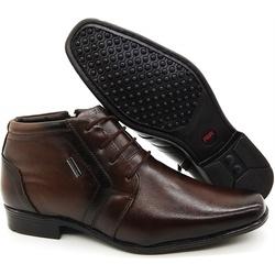 Sapato Social Executivo Em Couro Kéffor Cor Castan... - KÉFFOR Calçados