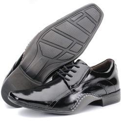 Sapato Social Executivo Forro Em Couro Preto Kéffo... - KÉFFOR Calçados