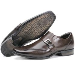 Calçado Sapato Social Em Couro Café Kéffor Istambu... - KÉFFOR Calçados