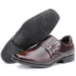 Sapato Social Executivo Em Couro Castanho Kéffor L... - KÉFFOR Calçados