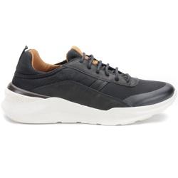 Sneaker Em Couro E Nylon Cor Preto Kéffor Linha Ra... - KÉFFOR Calçados