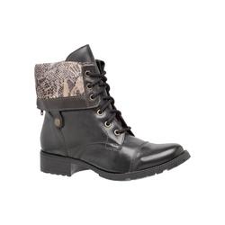 COTURNO MEGA BOOTS 3007 Preto-Cobra - Mega Boots