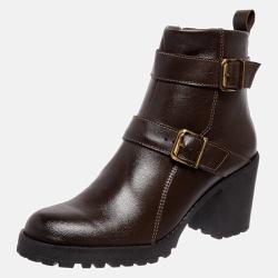 Bota Country Mega Boots em Couro Legitimo - Café