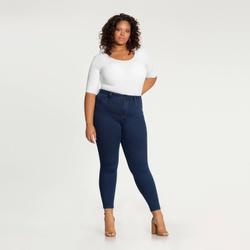 Calça Jeans Plus Size Fit For Me Lunender 20276 - ... - Loja Mônica's