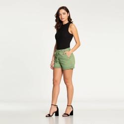 Shorts Boyfriend Sarja Cadarço Lunender 47870 - 13... - Loja Mônica's