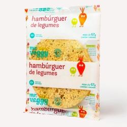 hambúrguer de legumes individual - MR VEGGY