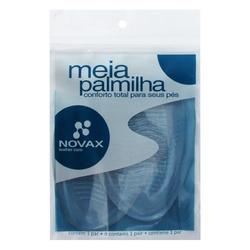 MEIA PALMILHA SILICONE COM ADESIVO - 10.009.001 - LOJANOVAX