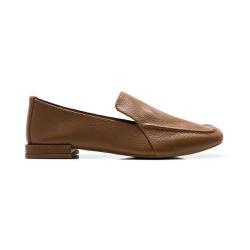 Sapato Feminino Quebec Boston Brown em Couro - 099... - Quebec