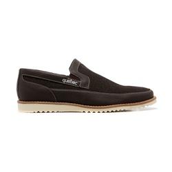 Sapato Masculino Quebec Nassau Marrom Jeans - 460... - Quebec