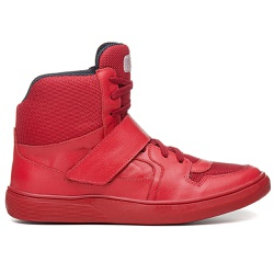 Tênis Masculino Rockfit Queen Em Couro All Red - M... - ROCK FIT