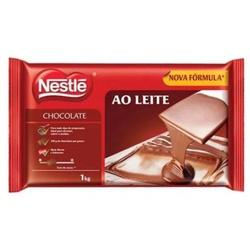 Chocolate Nestlé Ao Leite 1kg em Barra