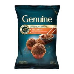 Chocolate em pó Genuine 33% Cacau 1,05kg