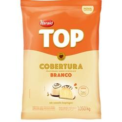 Chocolate Fracionado Top Branco 1,050kg Harald em Gotas