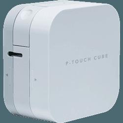 Rotulador eletronico movel p-touch cube - Telcabos Loja Online