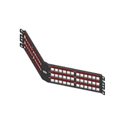 Patch panel descarregado 72p angular 2u blind... - Telcabos Loja Online