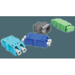 Kit de adaptadores opticos 01f sm sc-pc - azu... - Telcabos Loja Online
