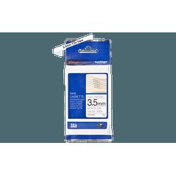 Fita não laminada tze-n201 3.5mm preto/branco - Telcabos Loja Online