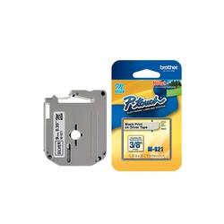 Fita domestica m-921 9mm preto/prata - Telcabos Loja Online