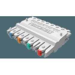 Conector 110idc (b50) femea 4 pares fisaflex ... - Telcabos Loja Online