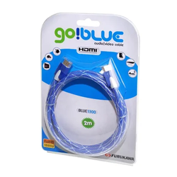 Cabo hdmi go blue 1300 2.0m furukawa - Telcabos Loja Online