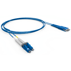 CORDAO OPTICO DUPLEX MM 50 LC/LC-UPC 1.5 M OM... - Telcabos Loja Online