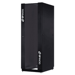 RACK EASYFLEX 44X600X600 PORTA DE VIDRO + TAM... - Telcabos Loja Online