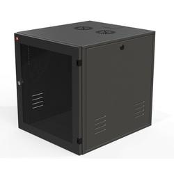 Ecoflex rack de parede c/ porta acrilico 12u ... - Telcabos Loja Online