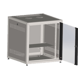 Mini rack 16u x 600 de profundidade + 1 bande... - Telcabos Loja Online