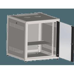 Mini rack 8u x 600 de profundidade + 1 bandej... - Telcabos Loja Online