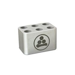 Rack de alumínio - 6 tubos de 15mL - 14417 - WTA