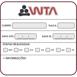 Etiqueta Magnética - 27176 - WTA