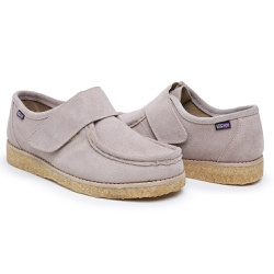 Sapato Velcro Taupe - 89 - LONDONST
