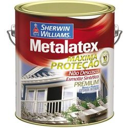 Esmalte Acetinado Branco Metalatex 3,6L - Marajá Tintas