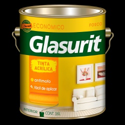 GLASURIT ACRÍLICO FOSCO 3,6L - Marajá Tintas