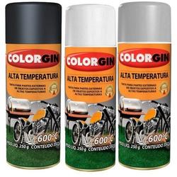 Tinta Spray Colorgin Alta Temperatura - Marajá Tintas