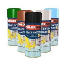 Tinta Spray Colorgin Esmalte Sintético - Marajá Tintas