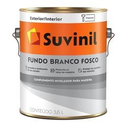 Fundo Preparador De Madeira Branco Fosco 3,6L Suvi... - Marajá Tintas