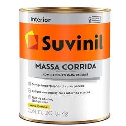 MASSA CORRIDA SUVINIL 1,4KG - Marajá Tintas