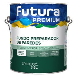 Fundo Preparador 3,6L - Futura - Marquezim Tintas