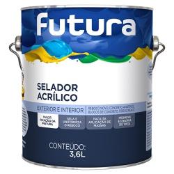 Selador Acrílico 3,6L - Futura - Marquezim Tintas