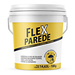 Impermeabilizante Flexparede 18L - Grafflit - Marquezim Tintas