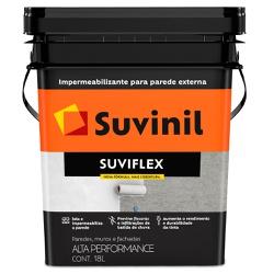 Impermeabilizante Suviflex Fosco 18L - Suvinil - Marquezim Tintas