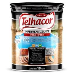 Resina Impermeabilizante RBS Incolor 18L - Telhaco - Marquezim Tintas