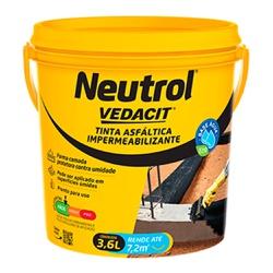 Impermeabilizante Neutrol 3,6L - Vedacit - Marquezim Tintas
