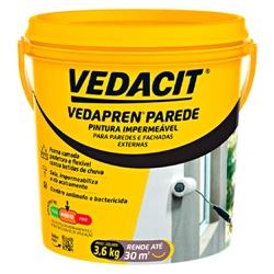 Impermeabilizante Vedapren Parede 3,6L - Vedacit - Marquezim Tintas