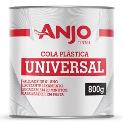 Cola Plástica Universal 800g - Anjo - Marquezim Tintas