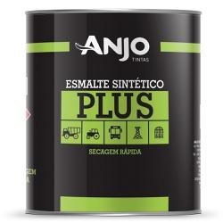 Esmalte Sintético Plus Fosco 0,9L Preto - Anjo - Marquezim Tintas
