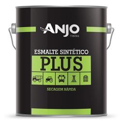 Esmalte Sintético Plus Fosco 3,6L Preto - Anjo - Marquezim Tintas